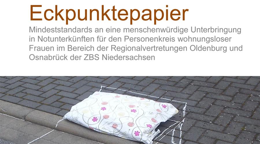 Eckpunktepapier mit Mindeststandards zur Unterbringung wohnungsloser Frauen